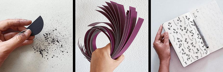 collacartacreo paper artist